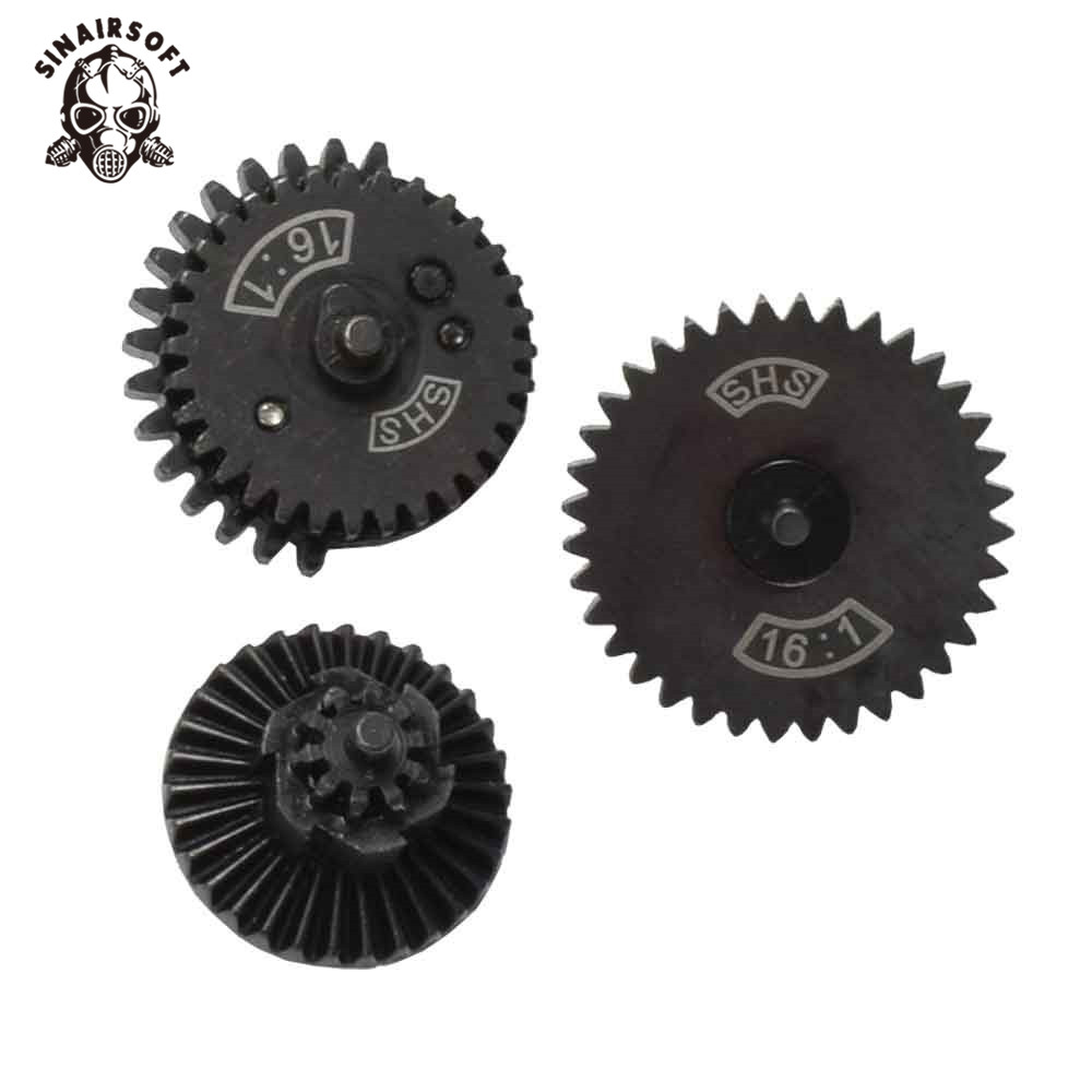 SHS 16: 1 High Speed ​​Gear Set for Ver.2 / 3 AEG Airsoft Gearbox - Jakt