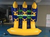 6 мест качество воды Повседневная лодка банан лодка надувная лодка штурмовые лодки raffling Бесплатная доставка flyfish