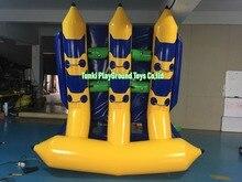 цена на 3 seats Water quality casual boat banana boat inflatable boat assault boats 0.9mm raffling-Free shipping