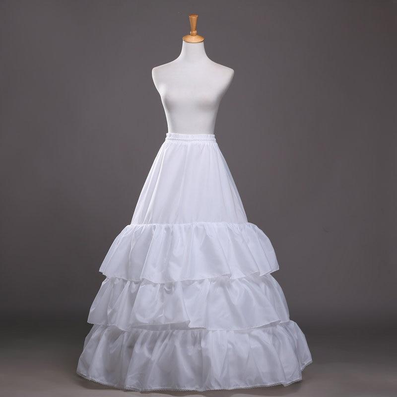 P001 High Quality White 3 Layers Ruffles font b Wedding b font Dress font b Bridal
