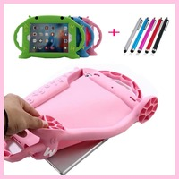 Case For Apple IPad 5 Air 1 Tablet Case For Kid Children Cartoon Tablet Handle Silicon