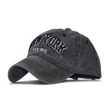a9e964594054a Nueva YORK gorras de béisbol para los hombres las mujeres papá sombreros  hueso gorra Homme NY gorra verano sombreros de camioner.