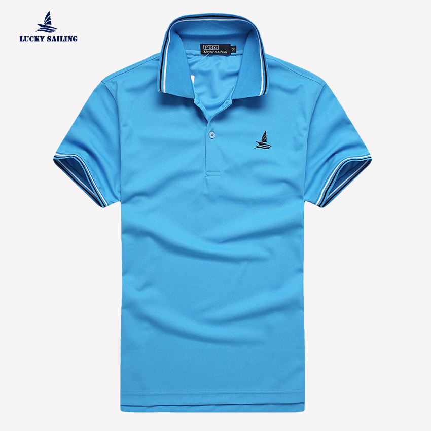 New Fashion Brand Men Polo Shirt Solid O-Neck Short Sleeve Soft Breathable Fit Shirt Men Cotton Polo Shirt Workout Casual Shirt