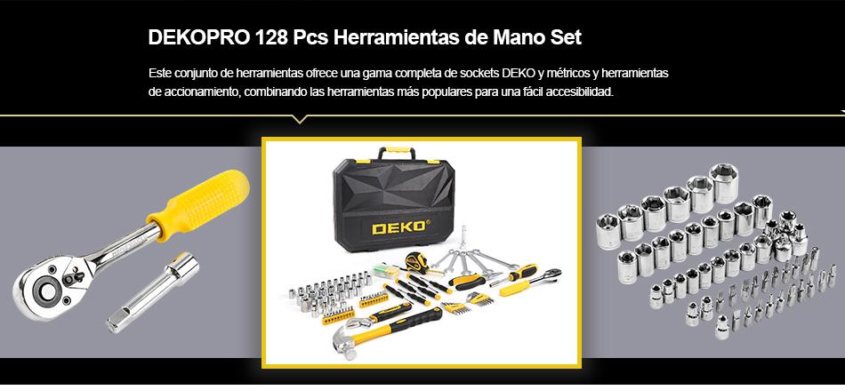 Maletin de herramientas con 128 utensilios de trabajo