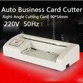 1 PC 300B tarjeta de corte eléctrica Cortadora automática de tarjeta de papel máquina de corte de herramienta de bricolaje A4 y Carta tamaño 220 V