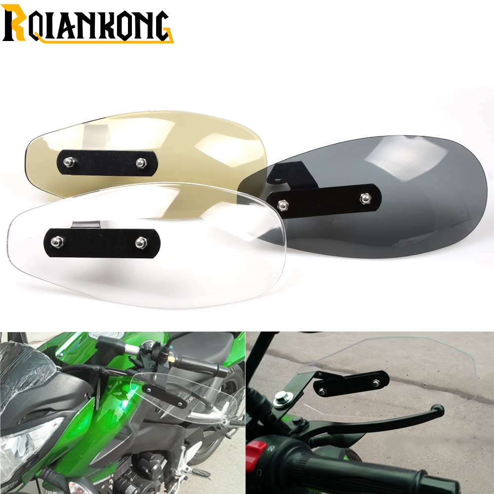 Motorcycle Accessories wind shield handle Brake lever hand guard for KTM 200 250 390 690 990 Duke RC SMC SMCR Enduro R in Covers Ornamental Mouldings from Automobiles Motorcycles