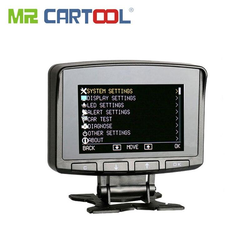 X50 PRO Obd2 HUD Дисплей компьютер автомобиля Скорость ometer OBD 2 II счетчик воды Скорость сигнализации приборной панели авто тестер цифровой инструм...