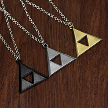 Alloy Pendant Necklace Fashion-Accessories Triforce Jewelry Gift Women Man Game Triangle