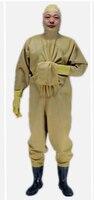 1 мм мягкие желтые резиновые сапоги водонепроницаемый костюм дышащие резиновые сапоги Wader чулок для ног waadschoenen респиратор cuissarde peche