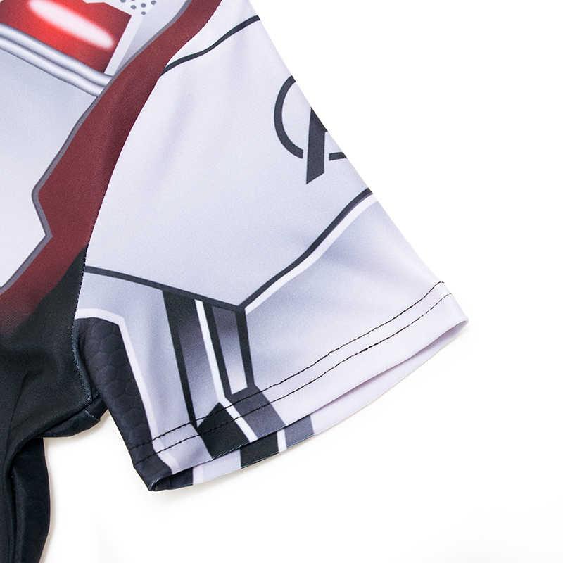 נוקמי 4 סוף המשחק Quantum מלחמת 3D מודפס T חולצות גברים דחיסת חולצה איש ברזל קוספליי תחפושת ארוך שרוול חולצות עבור זכר 2019