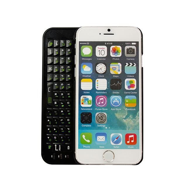 2bb8bd595ce Hight Quality Ultra Thin Backlit Wireless Slide out Phone Case Bluetooth  Keyboard Case Cover For iPhone 6 6S 4.7