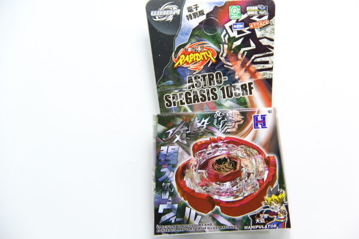 Retail Packing DS Cyber Pegasus (Pegasis) 4D Metal Fight Beyblade (Astro Spegasis) Without Launcher