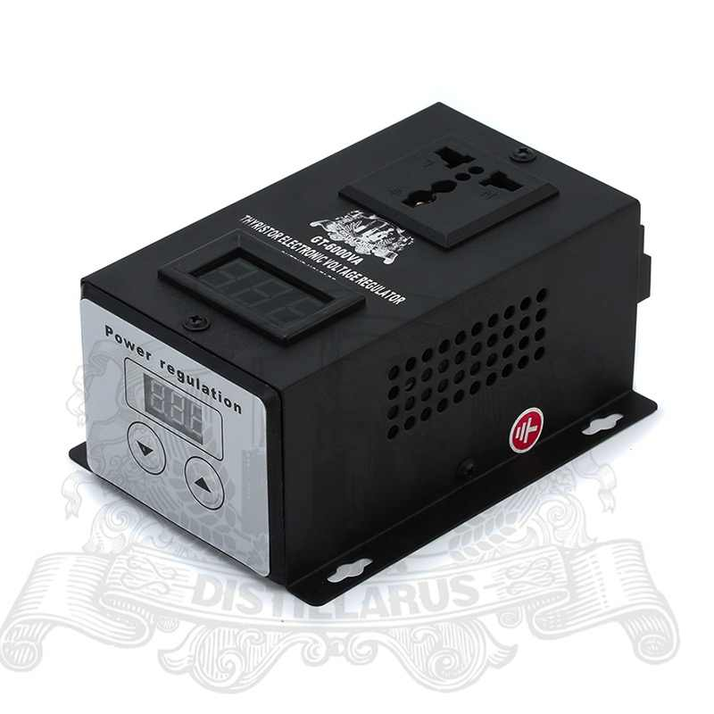 6000W Thyristor Electronic  Voltage regulator 0-220V . REAL Rated power 6000W.  Single phase 220V 50Hz