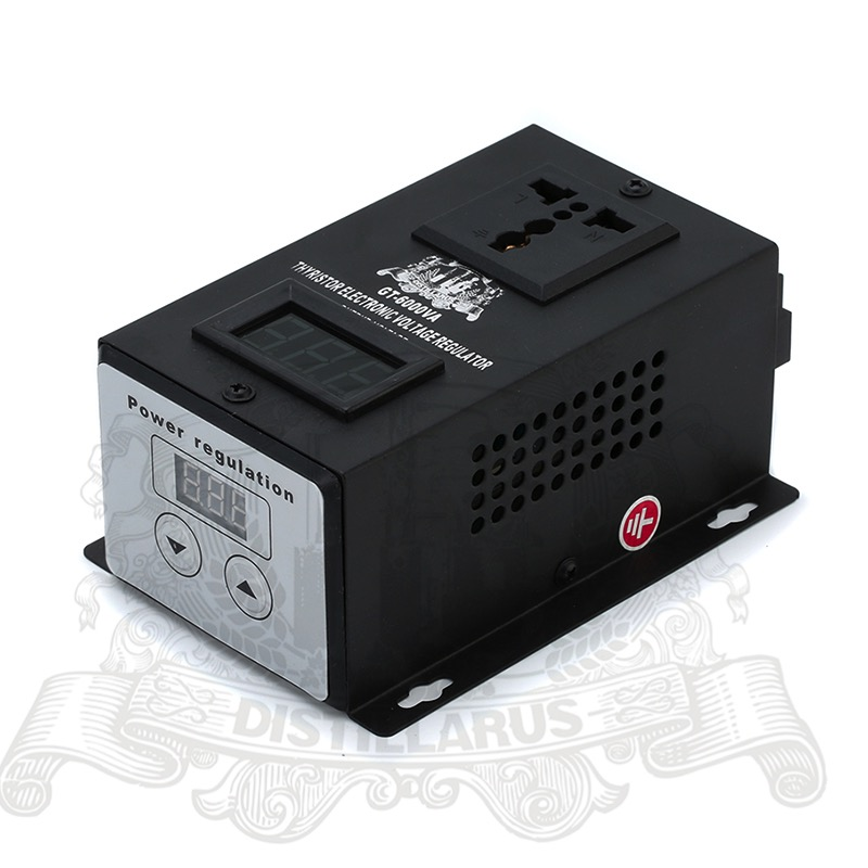 6000W Thyristor Electronic  Voltage regulator 0-220V . REAL Rated power 6000W.  Single phase 220V 50Hz electronics