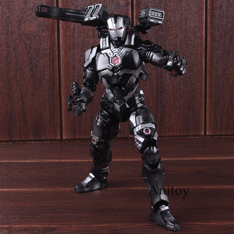 Marvel Universe Variant Play Arts Kai Action Figure War Machine PVC Marvel Toys Action Figures Collectible Model Toy 25cm play arts kai marvel avengers infinity war super hero iron man war machine pvc action figure collectible model toy
