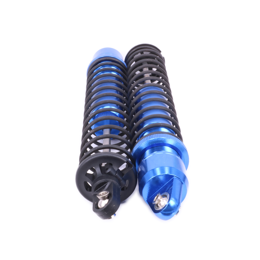 2PCS Oil Filled Type Shock Absorber Damper For Rc Hobby Car 1/6 1/5 Traxxas X-Maxx Length Adjustable 77076-4 7761Hopup Parts kyb car left shock absorber 338048 for citroen lifan 520 auto parts