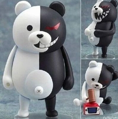 NEW hot 10cm Q version Danganronpa Trigger Happy Havoc monokuma movable action figure toys collection christmas toy doll new hot 17cm avengers thor action figure toys collection christmas gift doll with box j h a c g