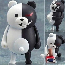 NEW hot 10cm Q version Danganronpa Trigger Happy Havoc monokuma movable action figure toys collection christmas