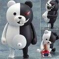 Nueva caliente 10 cm Q versión Danganronpa Trigger Happy estrago monokuma movable figura de acción de recogida de juguetes muñeca de juguete navidad
