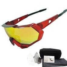 3 lentille UV400 Polarisées Sports de Plein Air Cyclisme lunettes de Soleil  Hommes Femmes Vélo Vélo b7184c7d4f92