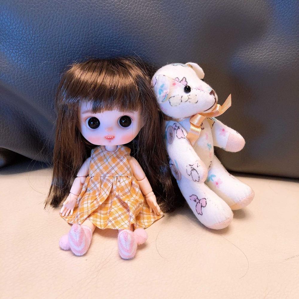 Oyuncaklar ve Hobi Ürünleri'ten Bebekler'de OB11 El Yapımı bebek özelleştirme bebekler Mini Bebek sevimli bebek'da  Grup 3