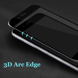 Image 3 - フルカバースクリーンプロテクター強化ガラス iphone 6 6 S プラス 6 プラス 7 8 プラス X 5 S SE 5 S XR XS 最大 2018 前面保護フィルム