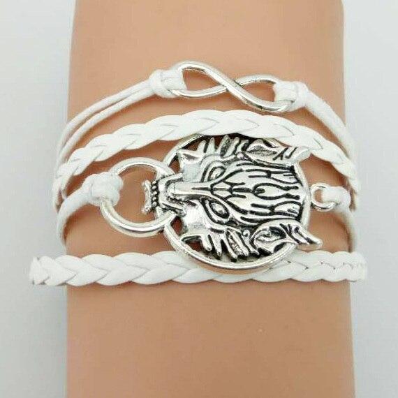Game of Thrones Men Leather Bracelet  2