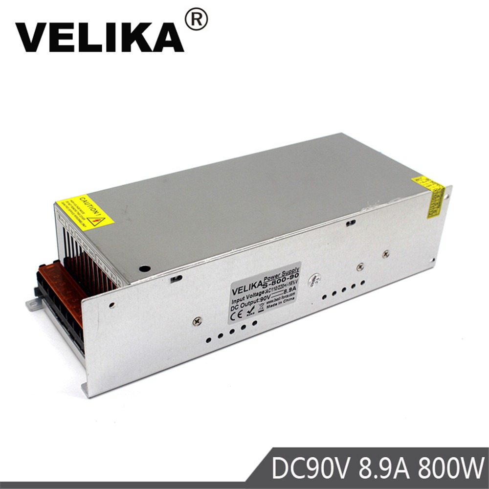Switching power supply 90v 8 9A 800w AC DC Converter led driver 220V AC DC SMPS