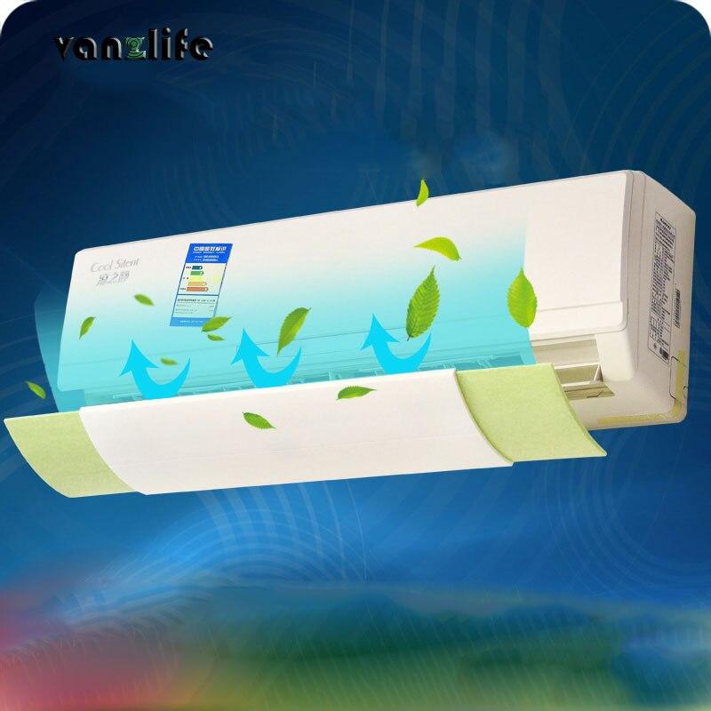 Vanzlife anti directe de soufflage rétractable climatiseur vent bouclier, froid climatiseur vent déflecteur déflecteur