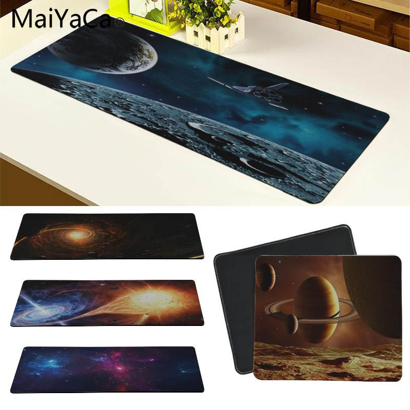 MaiYaCa Universe Space Customized laptop Gaming mouse pad Size for 30x60cm and 30x90cm Gaming Mousepads