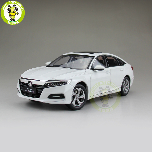 1 18 Honda Accord 10th Sedan Diecast Metal Car Model Toys Boy Girl