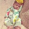 Bebé Mameluco Del Invierno Del Bebé Ropa de Bebé-Producto renacer Baby Girl Boy Ropa de Manga Larga Infantil del Mameluco Niños Buzos 2016