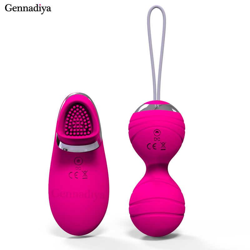 3a976c85b ... 10 Frequency Vibrating eggs Wireless Remote Control ben wa ball  Waterproof Kegel Balls Pelvic Floor Exercises ...