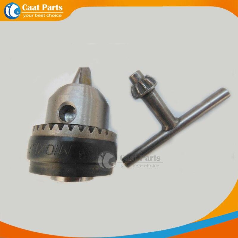 ¡Envío gratis! Amoladora angular de 1.5-10 mm Portabrocas especial con llave para taladros eléctricos Accesorios para herramientas eléctricas, M10X1.5