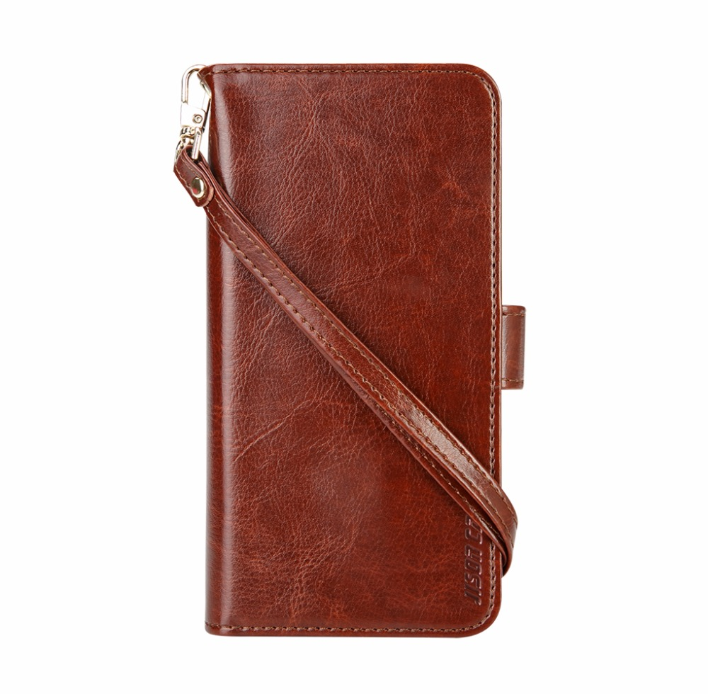 Luxury PU Leather Phone Cases for Samsung S8 S8 Plus Case Smart Cover Jisoncase Original Wallet Case for Samsung Galaxy S8 Plus