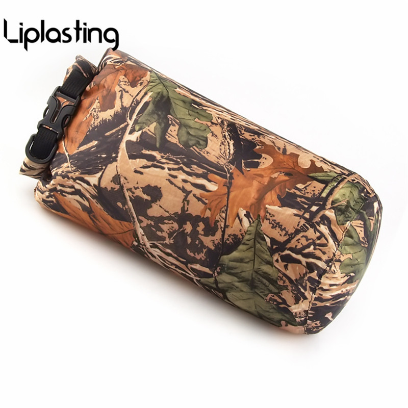 Outdoor Travel Camouflage Rafting 8L Dry Bag Swimming Floating Camping Waterproof Clothes Storage Canoe Drifting Camo Bags