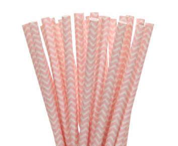25 шт./партия светло-розовые синие бумажные соломинки для флажки для кексов Детские душевые Свадебные праздничные предметы для украшения дня рождения соломинки