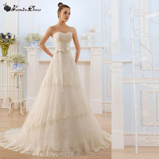 Encanto Vetidos De Novia princesa Vintage Wedding Dress Bridal ...