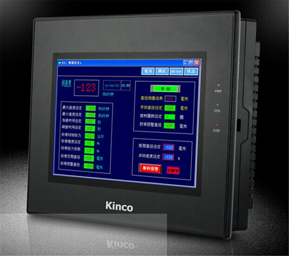 MT4522TE Kinco HMI Touch Screen 10.1 inch 800*480 Ethernet 1 USB Host 1 SD Card new in box kinco mt4300c 5 6 inch hmi touch screen 320 234