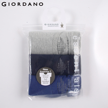 Giordano Men Round Neck 3pcs in One Pack Cotton T-shirts