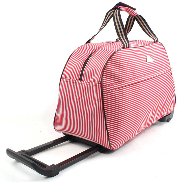 96acaa310f Fashion Rolling Luggage Large Capacity Women Trolley Luggage Waterproof Travel  Bags Wuitcase Trolley Bag Women s Handbag