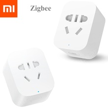 Xiaomi Smart Home Mijia เสียบสมาร์ท WiFi ซ็อกเก็ต Zigbee Wireless Control Light Switch (ต้องตรงกับ Xiaomi GATEWAY TO ใช้)