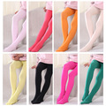 3-6 years girls candy color children tights for baby girls kids cute velvet pantyhose tights stockings for girls dance tights