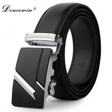 Correa de cuero Hombre automático hebilla cinturones para hombres auténtico  cinturón de los hombres cinturones ceinture de moda . 66b8f2a05a45