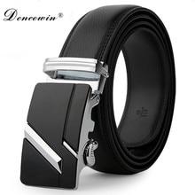 leather strap male automatic buckle belts font b for b font font b men b font