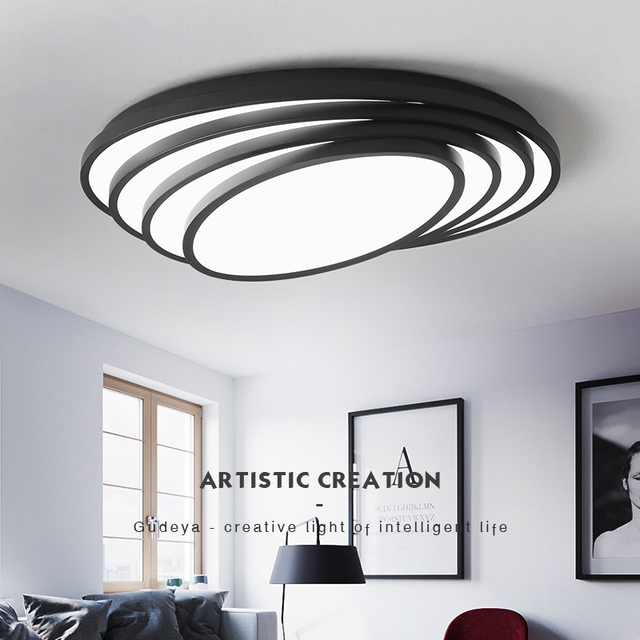 US $174.8 |Modern bedroom ceiling light decoration acrylic led ceiling  lamps for living room/study room indoor lighting fixture-in Ceiling Lights  from ...