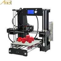 Anet A6 3d Printer Large Printing Size High Precision Reprap Prusa I3 3D Printer Kit DIY