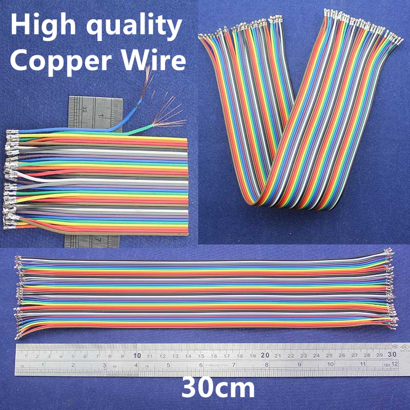 High Quality Copper Wire 30cm Ribbon Cable Xh2 54mm Female