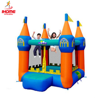 IHOME Free shipping Child inflatable trampoline toy naughty fort parent child household trampoline