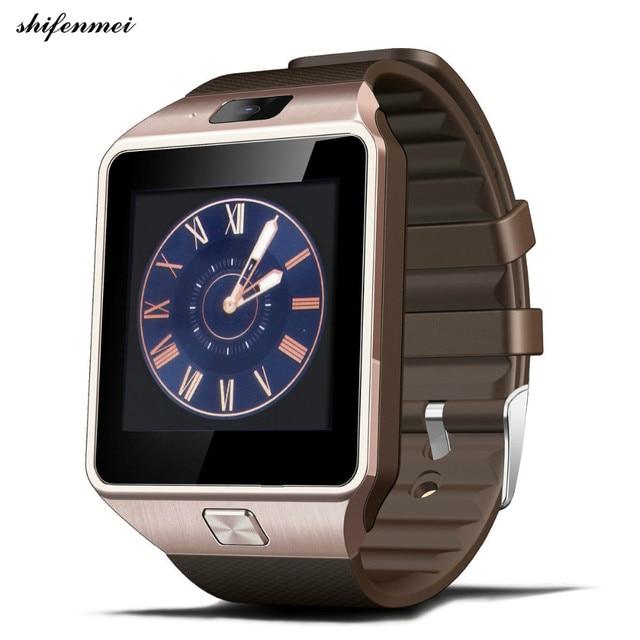 bb7bdc122 New Smartwatch Intelligent Digital Sport Gold Smart Watch DZ09 Pedometer  For Phone Android Wrist Watch Men